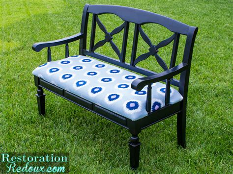 how to reupholster a bench how to reupholster a bench daily dose of style