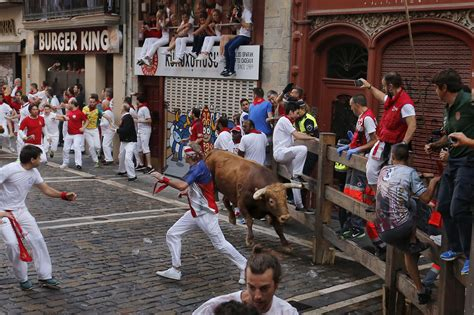 The Running photos spain s running of the bulls festival gets deadly