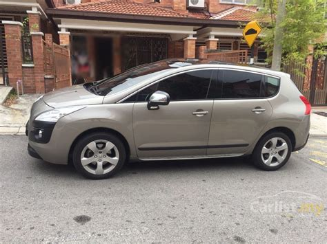 peugeot suv 2012 peugeot 3008 2012 1 6 in selangor automatic suv grey for