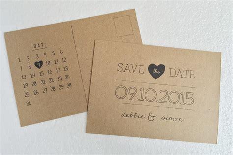 Handmade Save The Date Cards - save the date postcards diy hello deborah