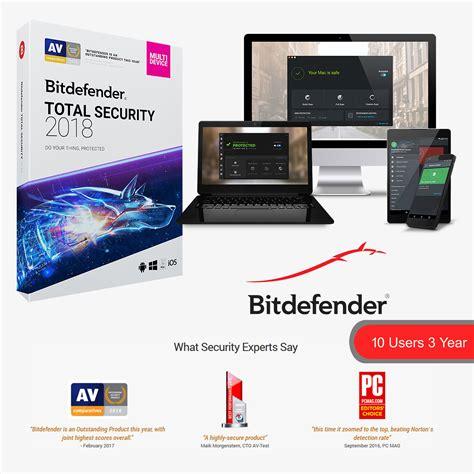 Bitdefender Sucurity 3 User 2017 bitdefender total security 2018 1 softvire