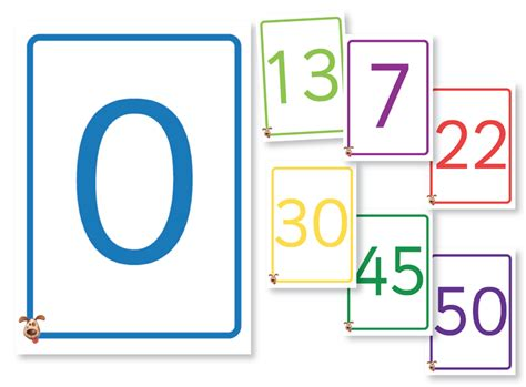 What Is The Gift Card Number - fellowes idea centre ideas for school teaching aids colourful number cards 0 50