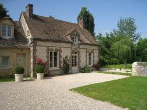 sweet little french cottage exterior
