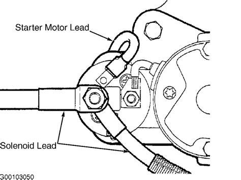 range rover starter motor installation