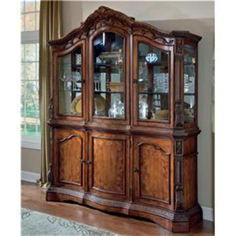 ashley furniture millennium china cabinet millennium ledelle traditional dining room buffet china