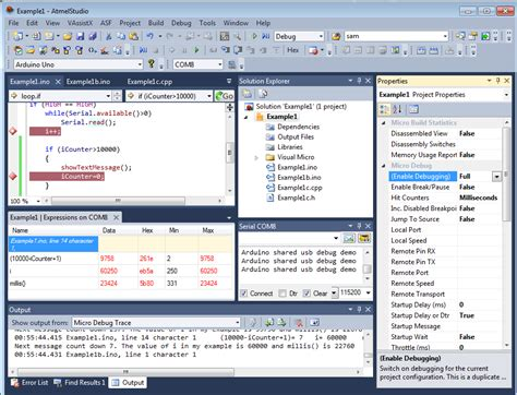 arduino code visual studio arduino programming with atmel studio 6 2