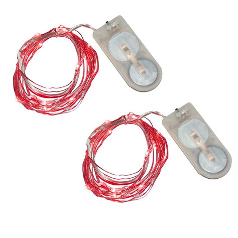 lumabase 40 light mini battery operated waterproof string