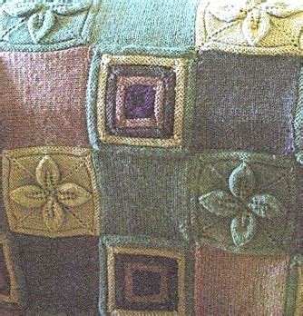 Knitted Patchwork Throw Pattern - free knit a patchwork blanket patterns knitting bee 26
