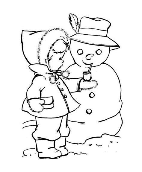 cute snowman coloring pages 17 best images about coloring pages winter on pinterest