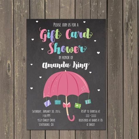 Gift Card Baby Shower Ideas - best 25 umbrella baby shower ideas on pinterest april showers shower favors and