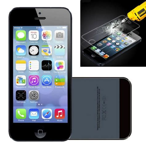Tempered Glass Iphone 5c premium tempered glass screen protector for apple iphone