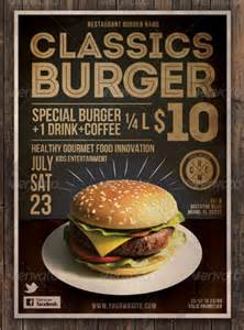 19 burger flyer templates free psd ai eps format