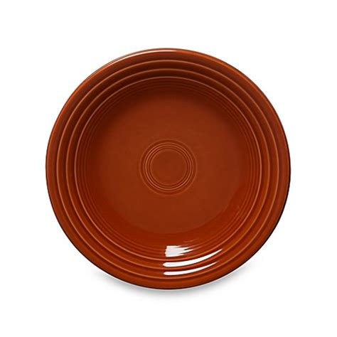 bed bath and beyond dinner plates fiesta 174 dinner plate in paprika bed bath beyond