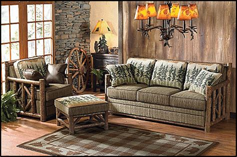 mountain themed decor rustic log cabin style decorating ideas