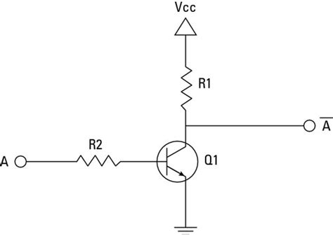 transistor not opening electronics projects how to create a transistor not gate circuit dummies