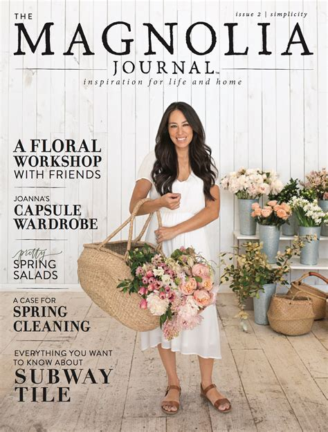 chip and joanna gaines spring issue of their magazine