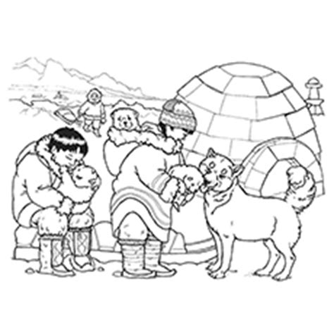 snow bear coloring page the three snow bears