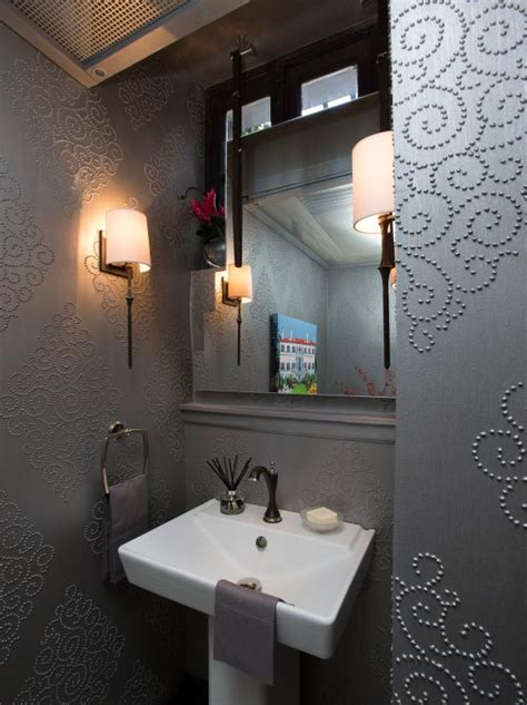 favorite powder rooms hgtv