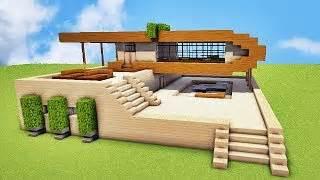 comment une villa de luxe sur minecraft tuto