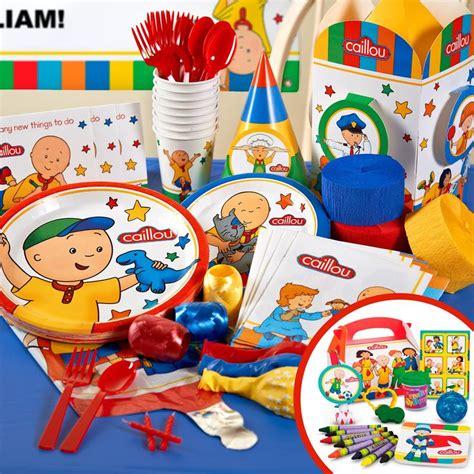 Caillou Decorations caillou birthday supplies ideas