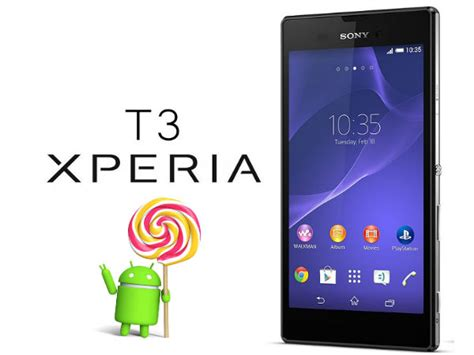 Hp Android Sony T3 how to update sony xperia t3 to android 5 1 1 lollipop custom rom gizbot