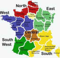 Regions Of France Map by Regions De France Home