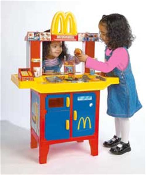 mcdonalds drive in and play food kitchens washing