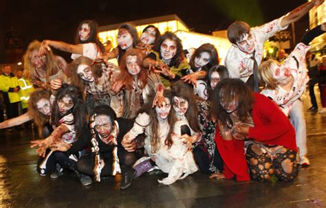 themed party nights sheffield fright night spectacular returns to sheffield city centre