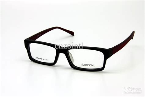 retro style wooden glasses frame clear lens imitation
