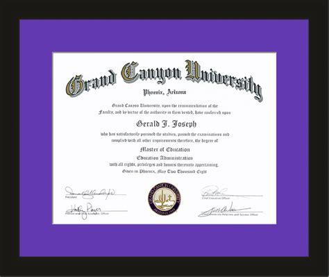 Grand Masters With Mba Degrees by Diploma Frame Archives Of Frames