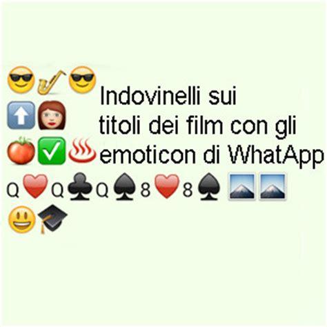 film con le emoticon il gioco dei titoli dei film con gli emoticon di whatsapp