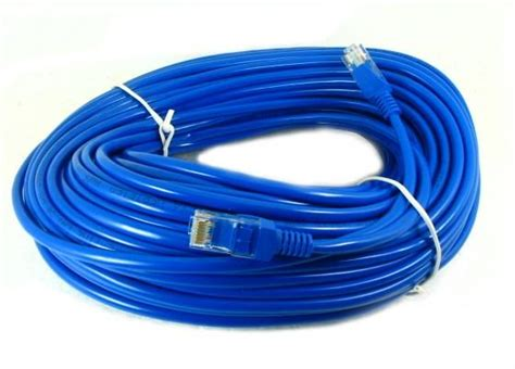 Kabel Lan 30m Howell 30 Meter 1 30m ethernet network patch cable cat5e pc to hub l end 1