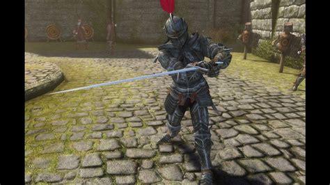 skyrim knight of skeleton armor mod skyrim se gothic knight armor quick showcase youtube
