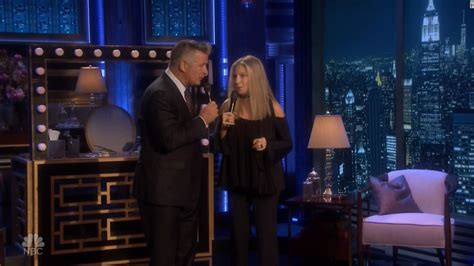 Alec Baldwin On The View This Friday by Barbra Streisand And Alec Bladwin Duet On Tonight Show Cnn