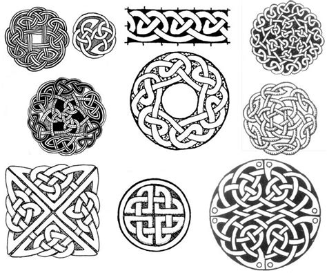 viking pattern meaning celtic circle and square knot designs tattoos