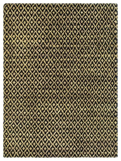 Black And Yellow Area Rugs by Bohemian Black Yellow Area Rug Boh315a 4 X 6