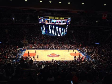 section 211 madison square garden view from block 211 row 13
