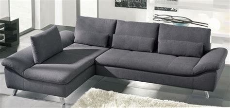 Grey Sofa Modern Gray Modern Style Schillig Sofa Bright Interior Living Room