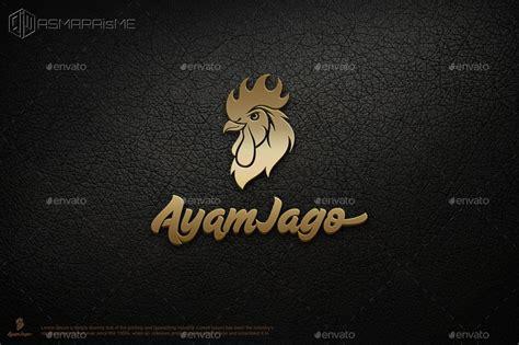 Tea Set Ayam Jago ayam jago rooster logo by asmaraisme graphicriver