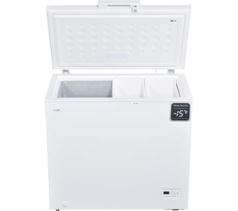 Freezer In Garage Winter by Logik L200cfw17 Chest Freezer White Ebay