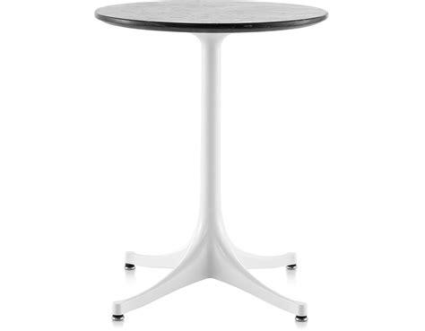 nelson pedestal side table nelson pedestal side table hivemodern com
