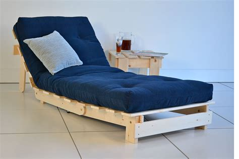 Futon Chair by Modern Futon Chairs With Blue Seat Futons