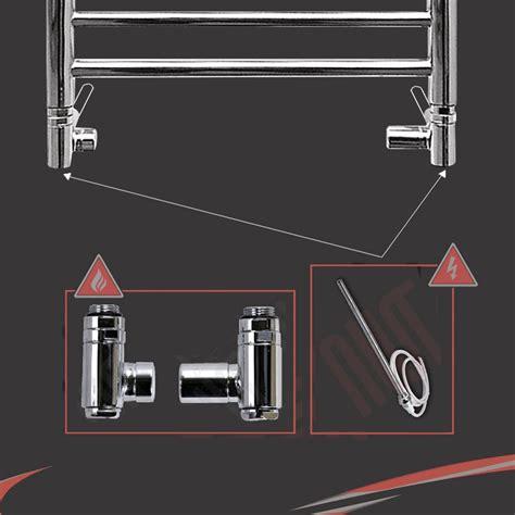 dual fuel bathroom radiators dual fuel valve conversion kits for bathroom heated towel rails radiators ebay
