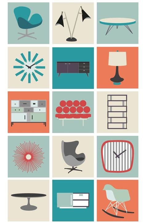 Contemporary Kitchen Carts And Islands modern design mid century modern graphic design patterns