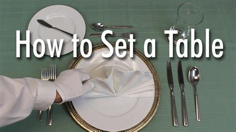 how to set a formal dinner table learn how to set a formal dinner table