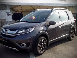 Honda V Honda Br V Compact Suv
