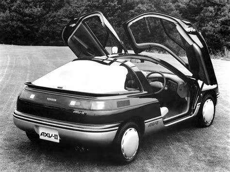 toyota axv ii   concept cars
