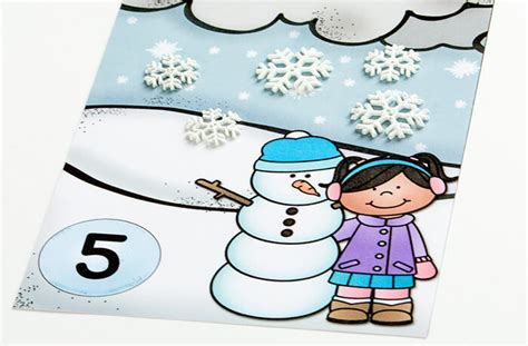 snow playdough mats printable snow counting mats playdough to plato