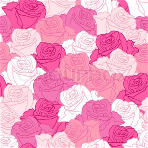 cartoon rose wallpaper torn paper wrapping pink art vector rose pattern seamless
