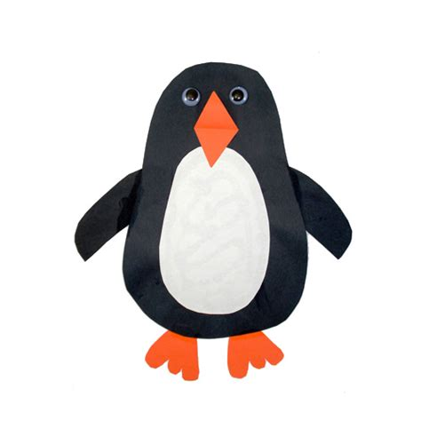 Paper Penguin Craft - penguin crafts 171 grandmother wren